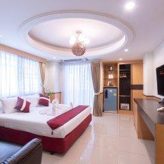 Отель Pratunam Pavilion Бангкок комната для гостей фото 2