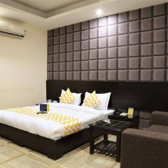 Отель FabHotel Aksh Palace Golf Course Road комната для гостей фото 4