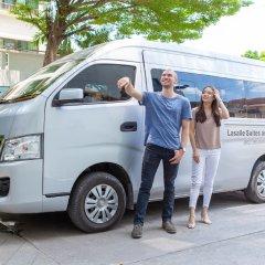 Отель Lasalle Suite Бангкок городской автобус