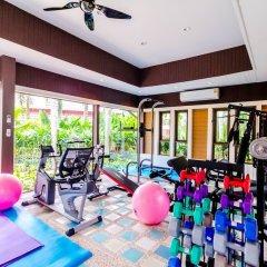 Отель Serene Boutique Garden Resorts фитнесс-зал фото 2