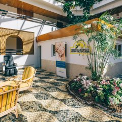 Отель Muthu Oura Praia Hotel Португалия, Албуфейра - 1 отзыв об отеле, цены и фото номеров - забронировать отель Muthu Oura Praia Hotel онлайн интерьер отеля фото 3