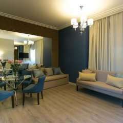 Апартаменты Arbat House Apartment on Nikitsky Bulvar Москва комната для гостей фото 3