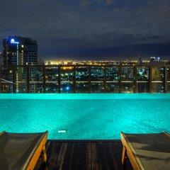 Отель Urbana Langsuan Bangkok, Thailand Таиланд, Бангкок - 1 отзыв об отеле, цены и фото номеров - забронировать отель Urbana Langsuan Bangkok, Thailand онлайн бассейн фото 2