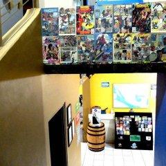 Отель Blue Pepper Hostel & Bar Мексика, Гвадалахара - отзывы, цены и фото номеров - забронировать отель Blue Pepper Hostel & Bar онлайн интерьер отеля фото 2