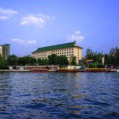 Отель Beijing Exhibition Centre Hotel Китай, Пекин - отзывы, цены и фото номеров - забронировать отель Beijing Exhibition Centre Hotel онлайн приотельная территория