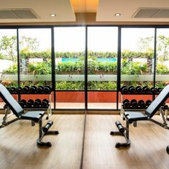 Nouvo City Hotel фитнесс-зал