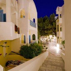 Отель Kamari Beach Hotel Греция, Остров Санторини - отзывы, цены и фото номеров - забронировать отель Kamari Beach Hotel онлайн балкон