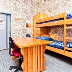 Хостел Наполеон Кровать в общем номере с двухъярусной кроватью фото 21