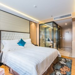 Отель Hoper Hotel (Shenzhen Huanggang Port) Китай, Шэньчжэнь - отзывы, цены и фото номеров - забронировать отель Hoper Hotel (Shenzhen Huanggang Port) онлайн комната для гостей фото 3