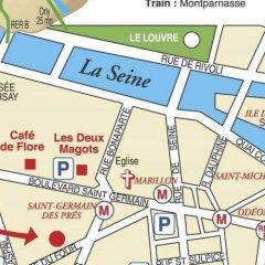 Hotel de Saint-Germain городской автобус