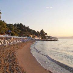 Отель Aeolos Beach Resort All Inclusive Греция, Корфу - отзывы, цены и фото номеров - забронировать отель Aeolos Beach Resort All Inclusive онлайн пляж фото 2