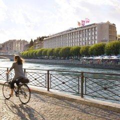 Отель Mandarin Oriental, Geneva Швейцария, Женева - отзывы, цены и фото номеров - забронировать отель Mandarin Oriental, Geneva онлайн спортивное сооружение