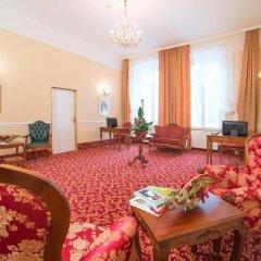 Отель Jesenius Чехия, Франтишкови-Лазне - отзывы, цены и фото номеров - забронировать отель Jesenius онлайн комната для гостей фото 2