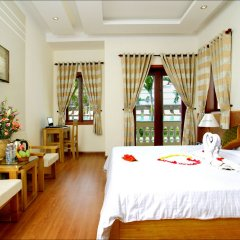 Отель Green Field Villas Хойан комната для гостей фото 3