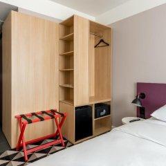 AZIMUT Отель Смоленская Москва 4* Номер SMART Standard с двуспальной кроватью фото 5