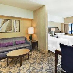 Отель Sheraton Lincoln Harbor Вихокен комната для гостей фото 2