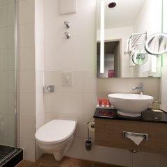 Отель Leonardo Hotel Munich City Olympiapark Германия, Мюнхен - 2 отзыва об отеле, цены и фото номеров - забронировать отель Leonardo Hotel Munich City Olympiapark онлайн ванная