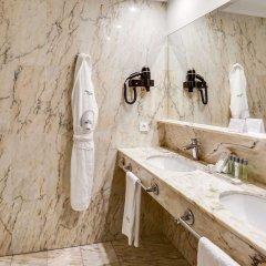 Отель Sercotel Hotel Europa Испания, Сан-Себастьян - 1 отзыв об отеле, цены и фото номеров - забронировать отель Sercotel Hotel Europa онлайн ванная фото 2