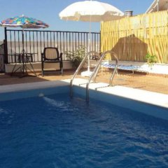 Отель Apartamentos Rurales Molino Almona бассейн