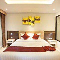 Отель Paripas Patong Resort 4* Стандартный номер с разными типами кроватей фото 9