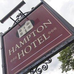 Отель Hampton Hotel Великобритания, Эдинбург - отзывы, цены и фото номеров - забронировать отель Hampton Hotel онлайн вид на фасад