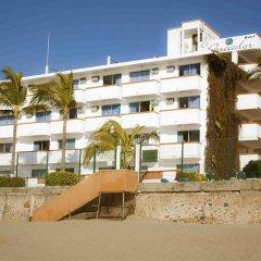 Отель El Pescador Hotel Мексика, Пуэрто-Вальярта - отзывы, цены и фото номеров - забронировать отель El Pescador Hotel онлайн пляж