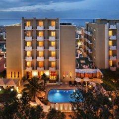 Hotel Villa Bianca пляж