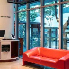 Отель Ibis Singapore On Bencoolen Сингапур интерьер отеля