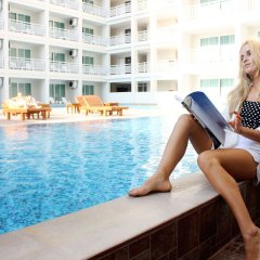 Отель Chanalai Hillside Resort, Karon Beach бассейн фото 3