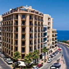 Отель The New Tower Palace Hotel Мальта, Слима - отзывы, цены и фото номеров - забронировать отель The New Tower Palace Hotel онлайн вид на фасад