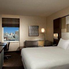 Отель Hilton San Francisco Union Square 4* Стандартный номер с различными типами кроватей фото 2