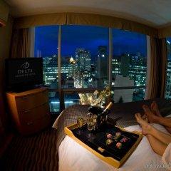 Отель Delta Hotels by Marriott Vancouver Downtown Suites Канада, Ванкувер - отзывы, цены и фото номеров - забронировать отель Delta Hotels by Marriott Vancouver Downtown Suites онлайн комната для гостей фото 4