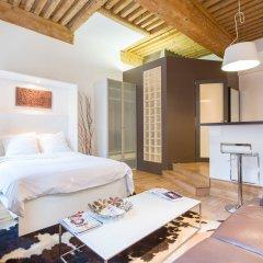 Отель Like Home Terreaux Франция, Лион - отзывы, цены и фото номеров - забронировать отель Like Home Terreaux онлайн комната для гостей фото 4