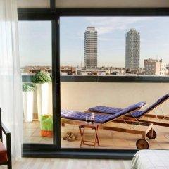 Отель H10 Marina Barcelona Испания, Барселона - 12 отзывов об отеле, цены и фото номеров - забронировать отель H10 Marina Barcelona онлайн балкон
