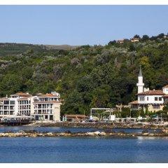 Отель Regina Maria Design Hotel & SPA Болгария, Балчик - отзывы, цены и фото номеров - забронировать отель Regina Maria Design Hotel & SPA онлайн пляж фото 2