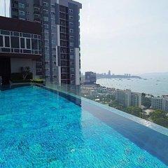 Отель 1Br Centric Sea 812 With Infinity Pool Паттайя бассейн фото 2