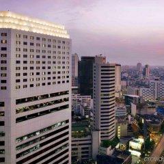 Отель Crowne Plaza Lumpini Park Бангкок вид на фасад