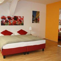Отель Actilingua Apartment Hotel Австрия, Вена - отзывы, цены и фото номеров - забронировать отель Actilingua Apartment Hotel онлайн комната для гостей фото 5