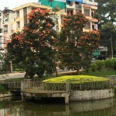Hoang De Hotel Далат приотельная территория