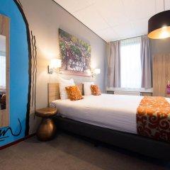 Отель Amsterdam Teleport Hotel Нидерланды, Амстердам - 5 отзывов об отеле, цены и фото номеров - забронировать отель Amsterdam Teleport Hotel онлайн комната для гостей фото 4