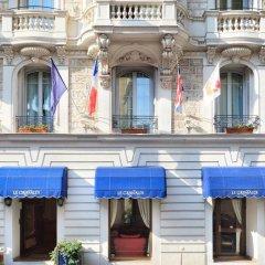 Отель Hôtel Le Grimaldi by Happyculture Франция, Ницца - 6 отзывов об отеле, цены и фото номеров - забронировать отель Hôtel Le Grimaldi by Happyculture онлайн бассейн