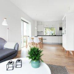 Апартаменты Aalborg Apartments Алборг комната для гостей