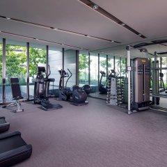 Отель Oakwood Premier OUE Singapore фитнесс-зал