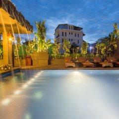 Отель Golden Temple Villa бассейн фото 2
