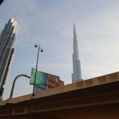 Отель Kennedy Towers - Index Tower Дубай приотельная территория