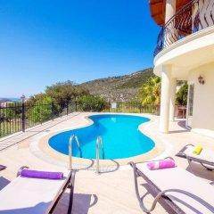 Villa Dermin Турция, Калкан - отзывы, цены и фото номеров - забронировать отель Villa Dermin онлайн балкон