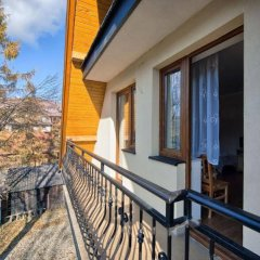 Апартаменты VISITzakopane City Apartments Закопане балкон