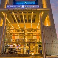 Отель Wyndham Dubai Marina Дубай вид на фасад