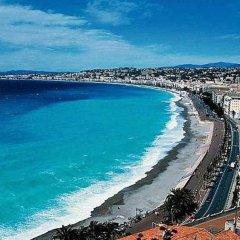 Отель Residence Nice Les Palmiers пляж