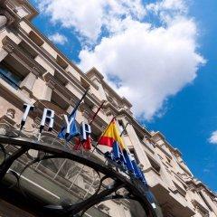 Отель Tryp Madrid Atocha Hotel Испания, Мадрид - 8 отзывов об отеле, цены и фото номеров - забронировать отель Tryp Madrid Atocha Hotel онлайн приотельная территория